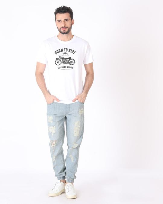 Shop Legend On Wheels Half Sleeve T-Shirt
