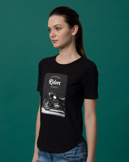 Shop Legendary Riders Basic Round Hem T-Shirt-Back