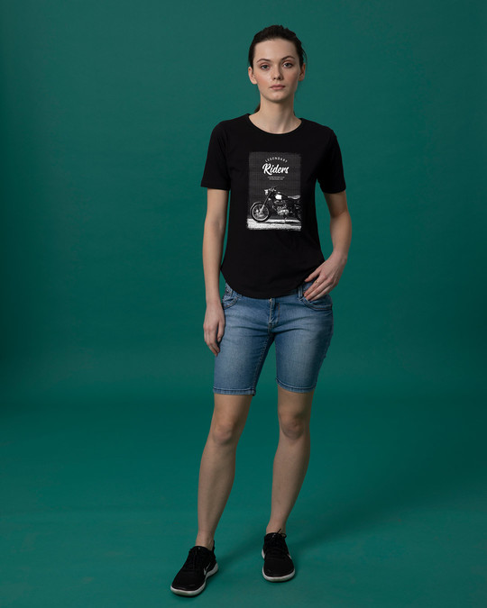 Shop Legendary Riders Basic Round Hem T-Shirt-Full