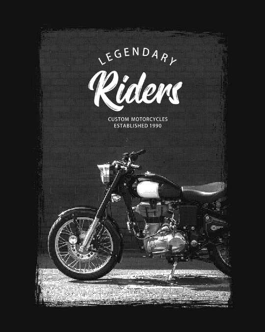 Shop Legendary Riders Basic Round Hem T-Shirt