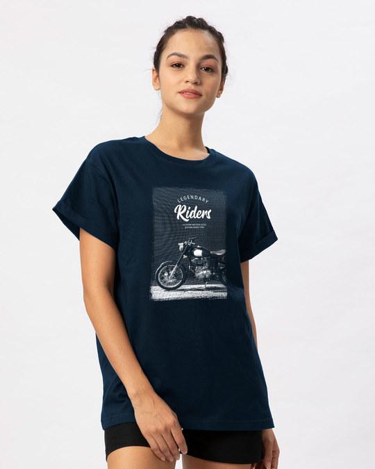 Shop Legendary Riders Boyfriend T-Shirt-Back