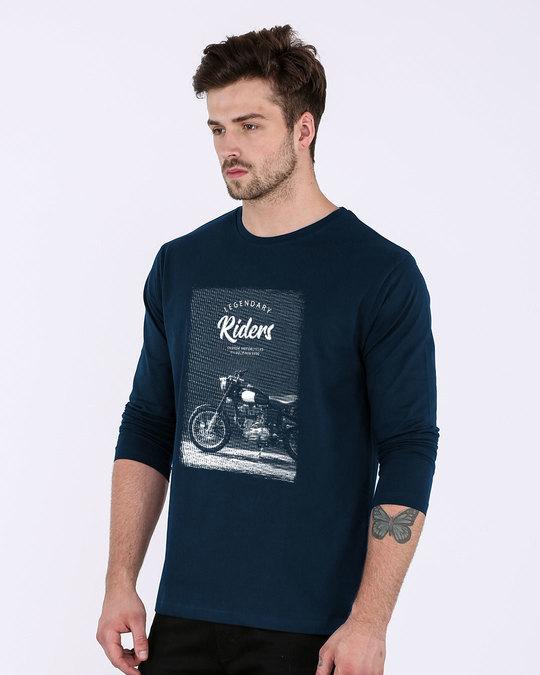 Shop Legendary Riders Full Sleeve T-Shirt-Back
