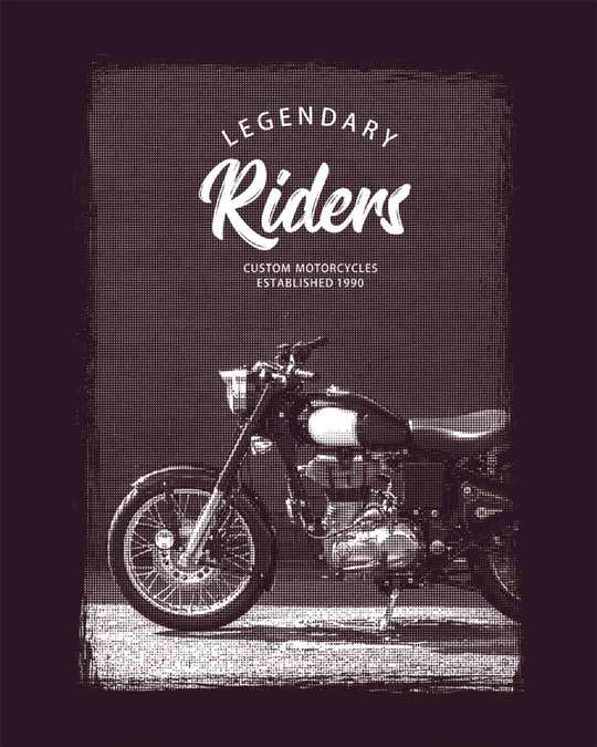 Shop Legendary Riders Full Sleeve T-Shirt