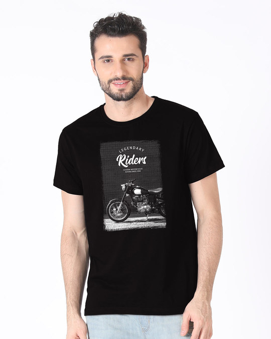 Shop Legendary Riders Half Sleeve T-Shirt-Back