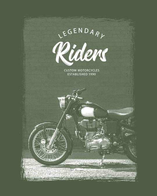 Shop Legendary Riders Half Sleeve T-Shirt