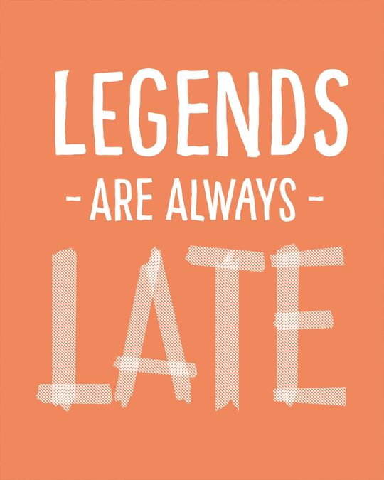 Shop Legends Are Late Light Sweatshirt