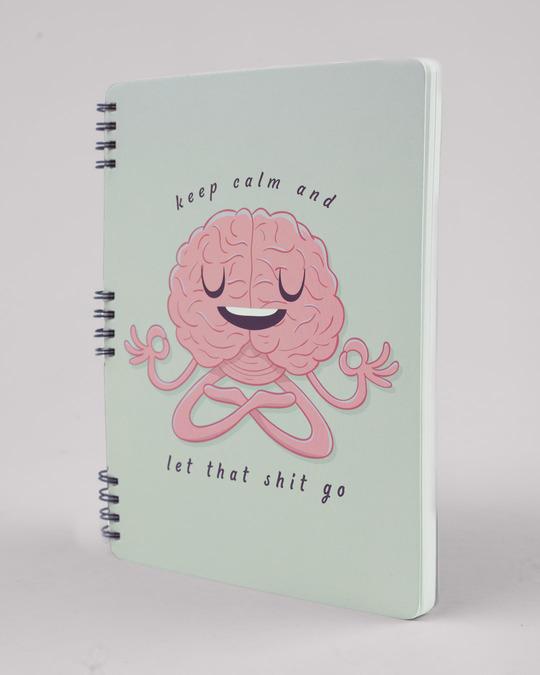Shop Let Go Spiral Notebook-Full