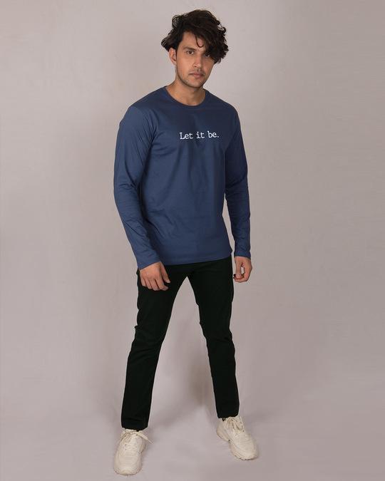Shop Let It Be Full Sleeve T-Shirt-Full