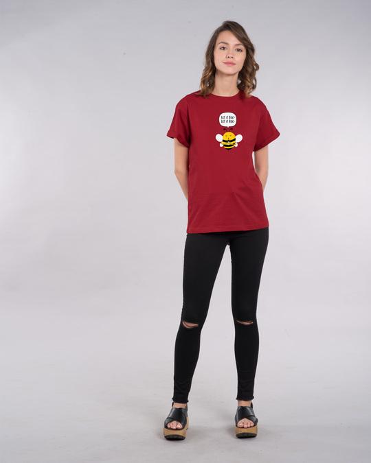 Shop Let It Beee Boyfriend T-Shirt