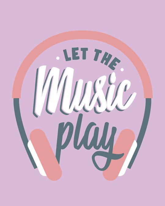 Shop Let It Play Headphones Boyfriend T-Shirt