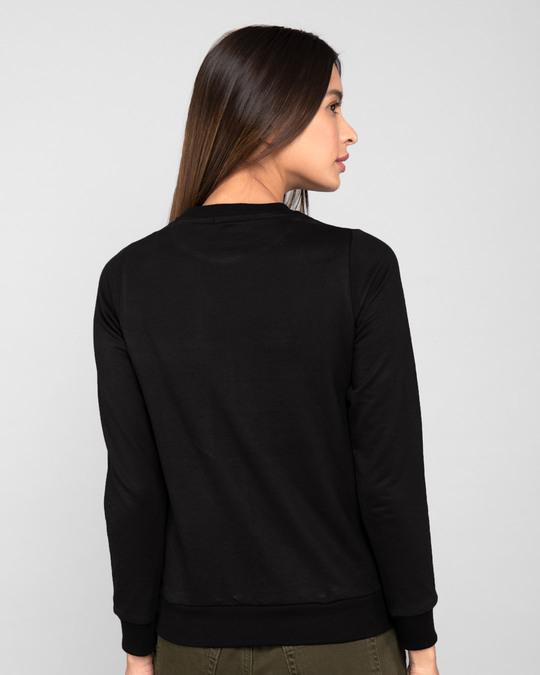 Shop Let's Go Heart Fleece Light Sweatshirts-Back