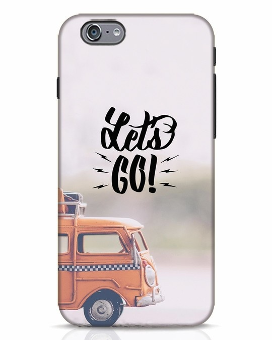 Shop Let's Go iPhone 6s Mobile Cover-Front