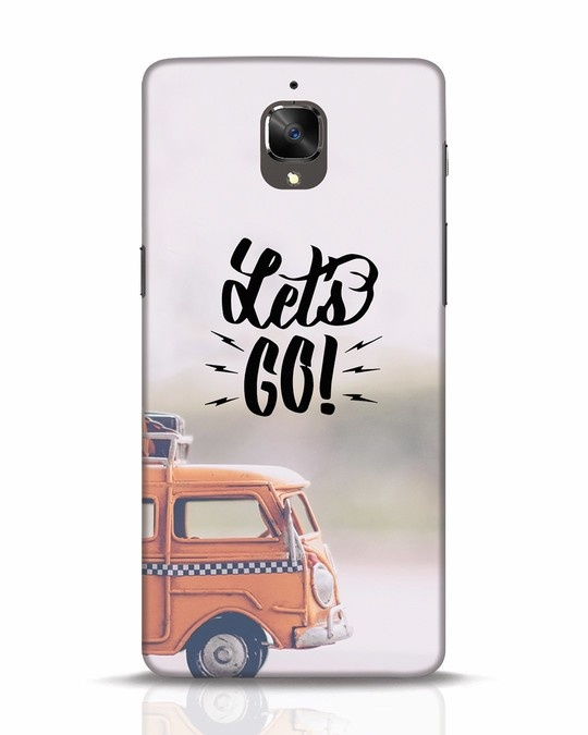 Shop Let's Go OnePlus 3T Mobile Cover-Front