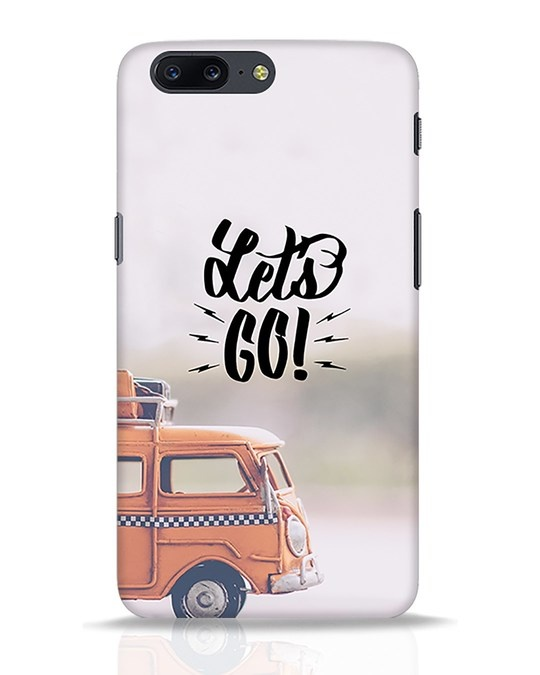 Shop Let's Go OnePlus 5 Mobile Cover-Front