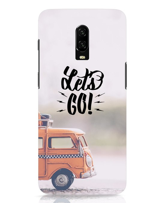 Shop Let's Go OnePlus 6T Mobile Cover-Front