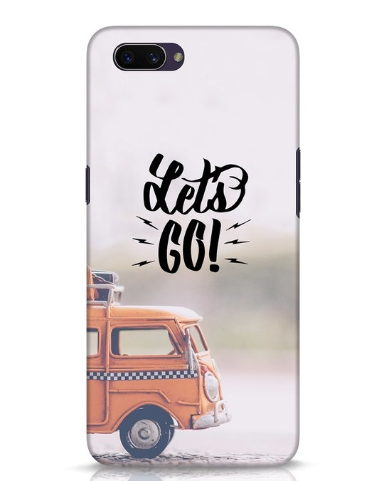 Shop Let's Go Oppo A3S Mobile Cover-Front