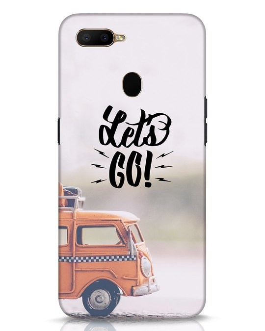 Shop Let's Go Oppo A5s Mobile Cover-Front