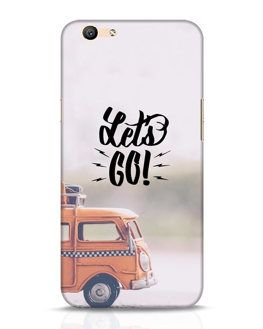 Shop Let's Go Oppo F1s Mobile Cover-Front