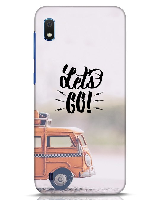 Shop Let's Go Samsung Galaxy A10 Mobile Cover-Front