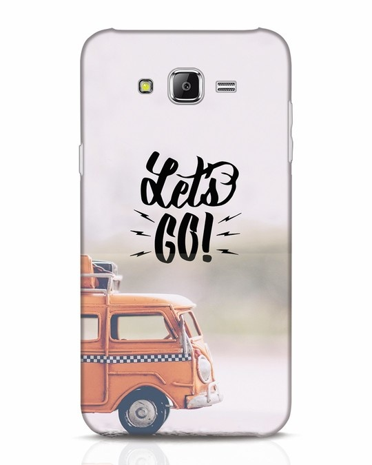 Shop Let's Go Samsung Galaxy J7 Mobile Cover-Front