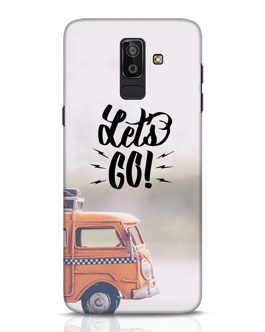 Shop Let's Go Samsung Galaxy J8 Mobile Cover-Front