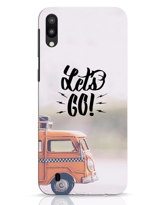 Shop Let's Go Samsung Galaxy M10 Mobile Cover-Front