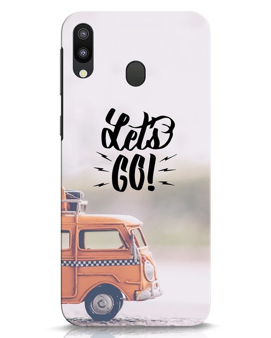 Shop Let's Go Samsung Galaxy M20 Mobile Cover-Front