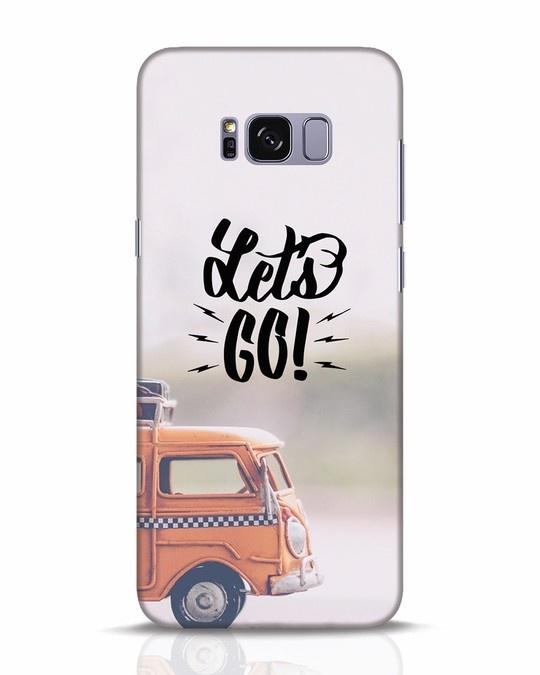 Shop Let's Go Samsung Galaxy S8 Plus Mobile Cover-Front