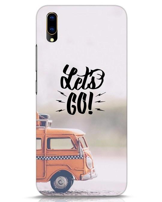 Shop Let's Go Vivo V11 Pro Mobile Cover-Front