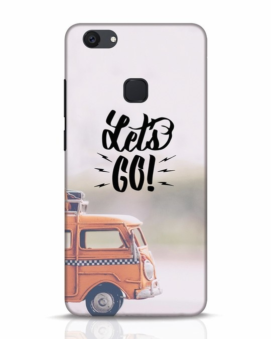 Shop Let's Go Vivo V7 Plus Mobile Cover-Front