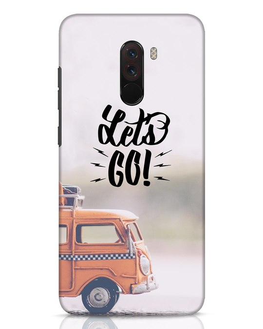 Shop Let's Go Xiaomi POCO F1 Mobile Cover-Front