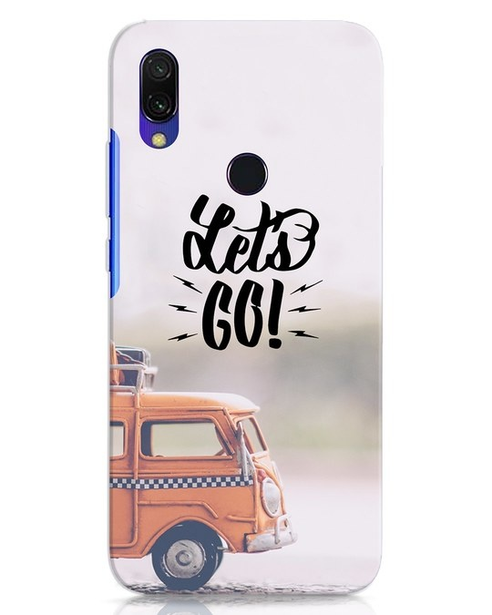 Shop Let's Go Xiaomi Redmi 7 Mobile Cover-Front