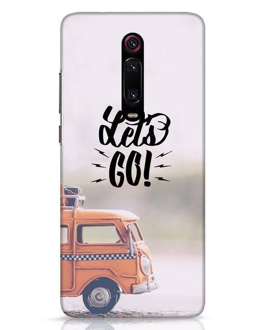 Shop Let's Go Xiaomi Redmi K20 Pro Mobile Cover-Front