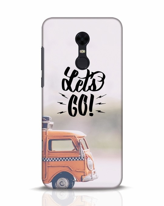 Shop Let's Go Xiaomi Redmi Note 5 Mobile Cover-Front