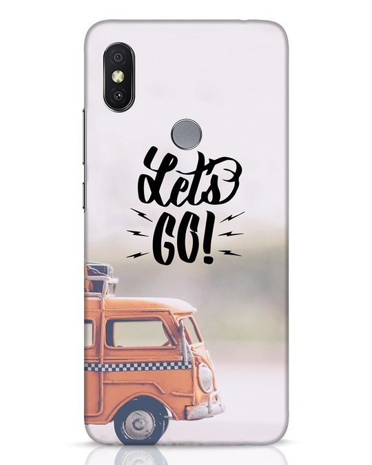 Shop Let's Go Xiaomi Redmi Y2 Mobile Cover-Front
