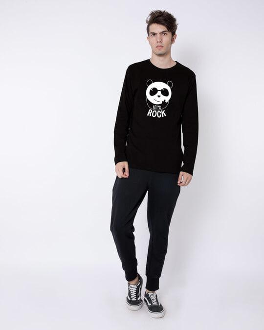Shop Let's Rock Full Sleeve T-Shirt