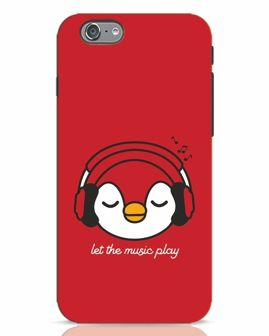 Shop Let The Music Play iPhone 6 Mobile Cover-Front