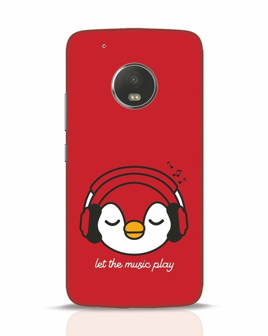 Shop Let The Music Play Moto G5 Plus Mobile Cover-Front