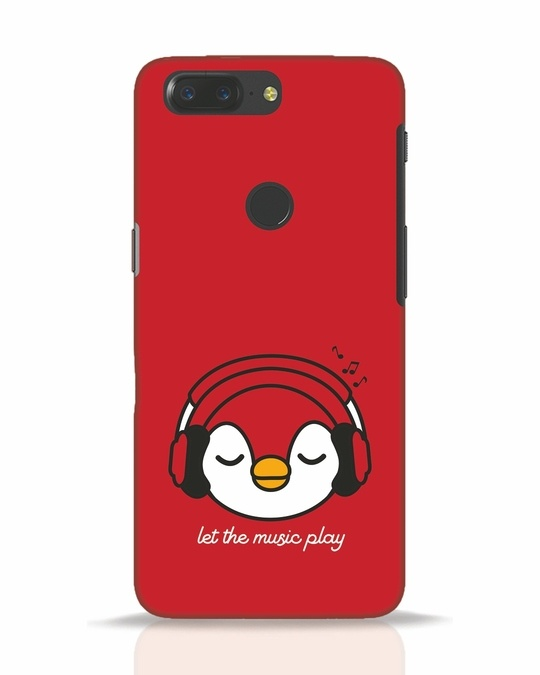 Shop Let The Music Play OnePlus 5T Mobile Cover-Front