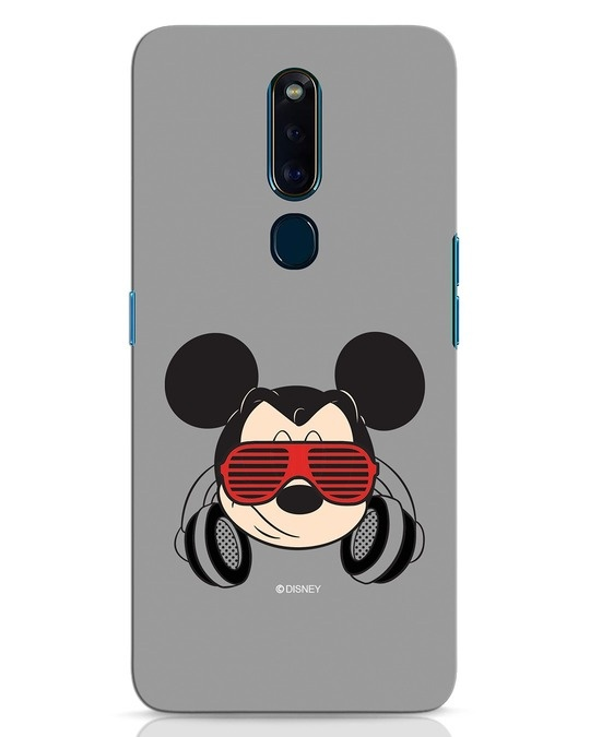 Shop Let The Music Play Oppo F11 Pro Mobile Cover (DL)-Front