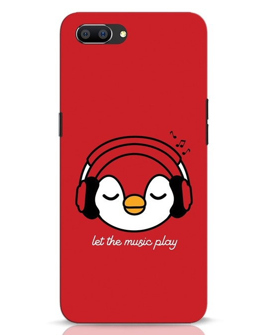 Shop Let The Music Play Realme C1 Mobile Cover-Front