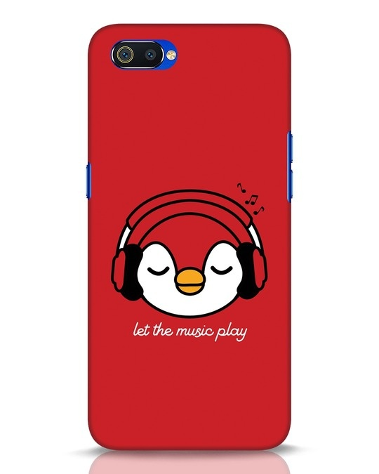 Shop Let The Music Play Realme C2 Mobile Cover-Front
