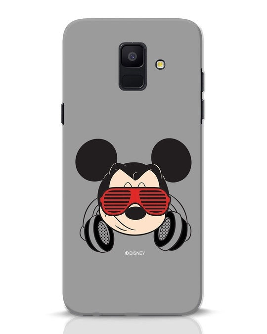 Shop Let The Music Play Samsung Galaxy A6 2018 Mobile Cover (DL)-Front