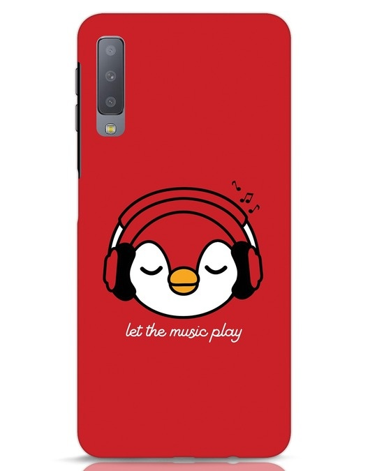 Shop Let The Music Play Samsung Galaxy A7 Mobile Cover-Front