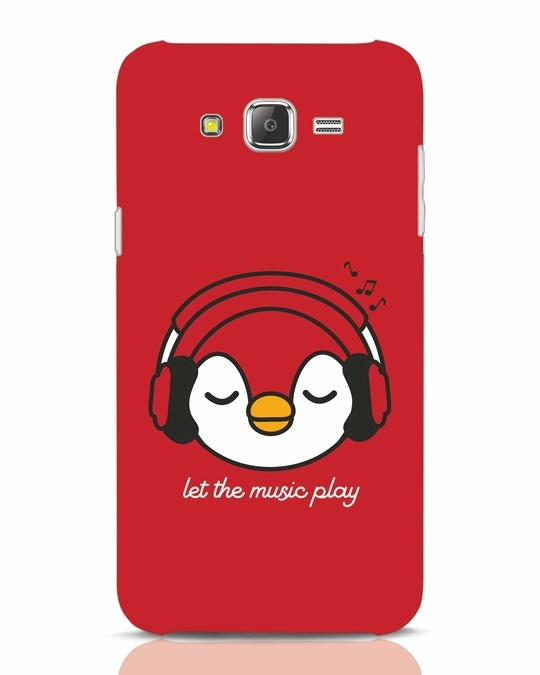 Shop Let The Music Play Samsung Galaxy J7 Mobile Cover-Front