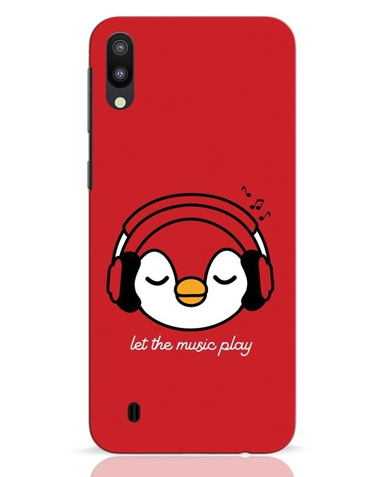 Shop Let The Music Play Samsung Galaxy M10 Mobile Cover-Front