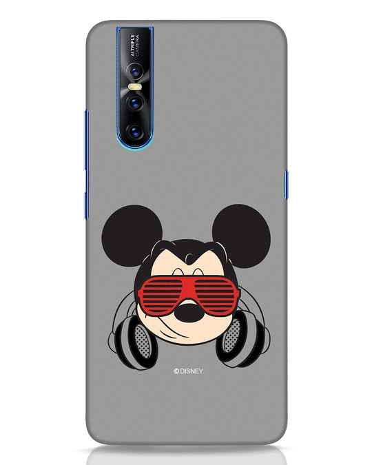 Shop Let The Music Play Vivo V15 Pro Mobile Cover (DL)-Front