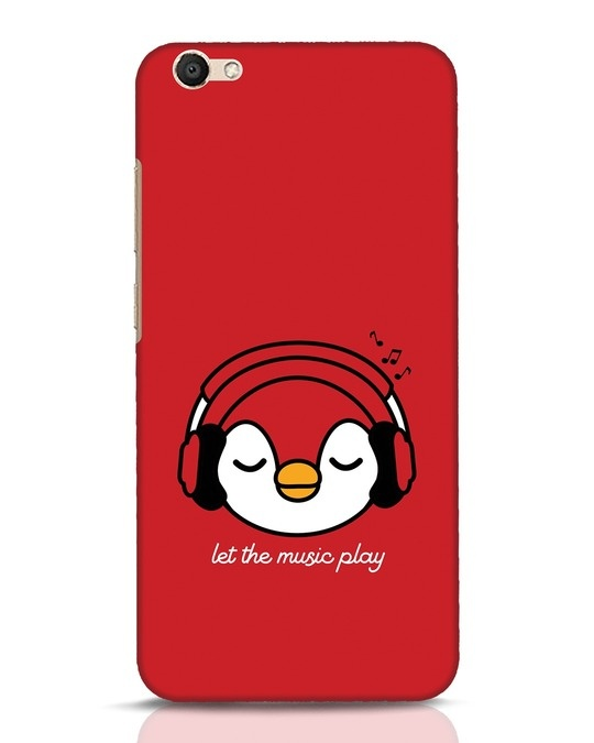Shop Let The Music Play Vivo V5 Mobile Cover-Front