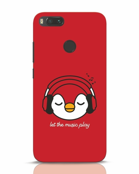 Shop Let The Music Play Xiaomi Mi A1 Mobile Cover-Front