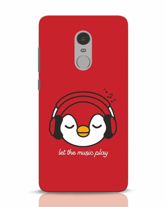 Shop Let The Music Play Xiaomi Redmi Note 4 Mobile Cover-Front